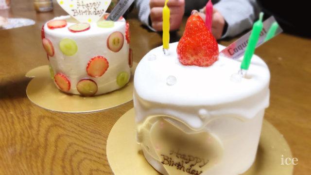 コクリコ 誕生日ケーキ