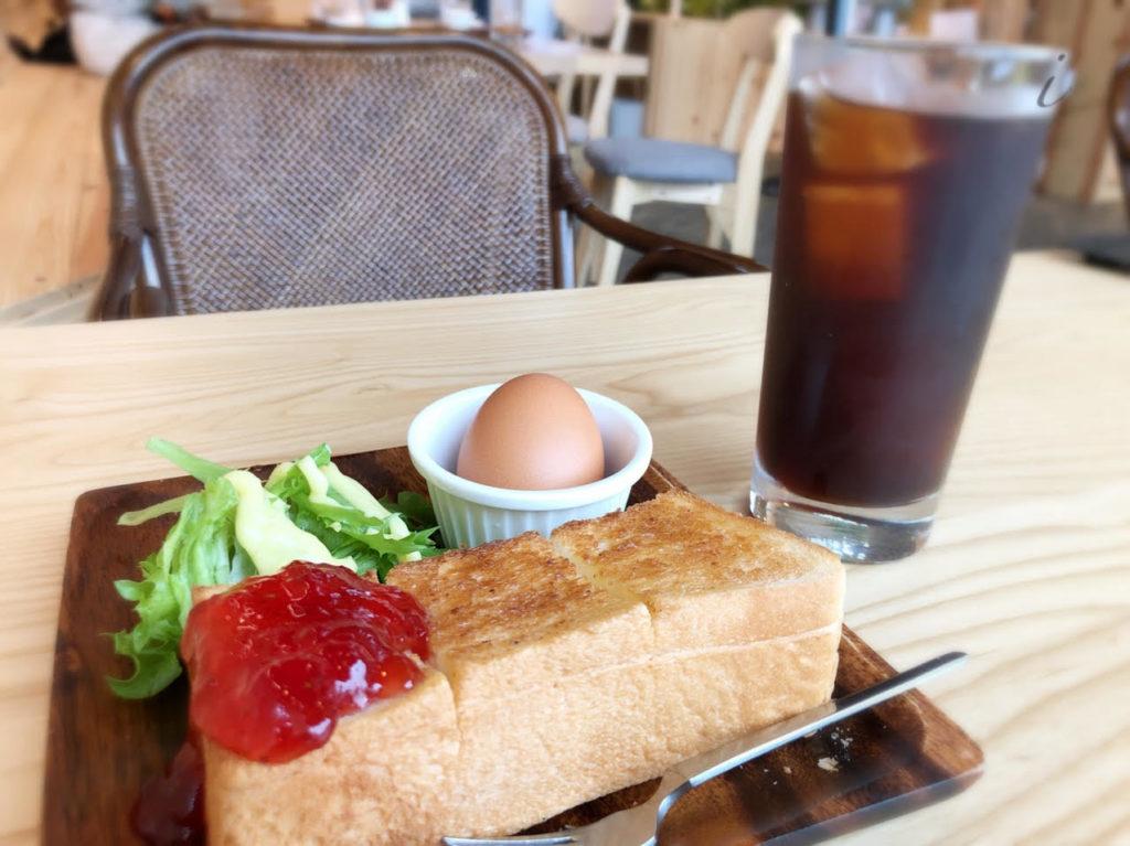 ベンズモーニングカフェ トースト